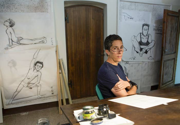 """Alison Bechdel received her grant for """"redefining paradigms in memoir"""" and that's exactly what this books does. The New York Times wrote of the book: """"Throughout, there are magnificent feats of connectivity, startlingly complex internal monologues that unfold with perfect simplicity.""""Yes, you should definitely read it."""