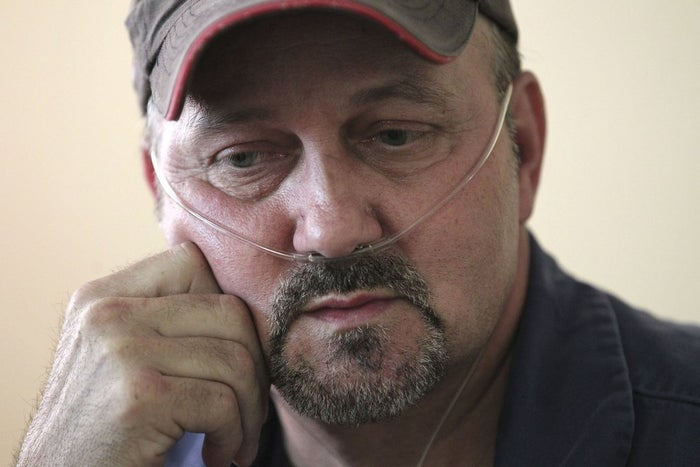 Roger Cook, a former coal miner with black lung, in 2013.
