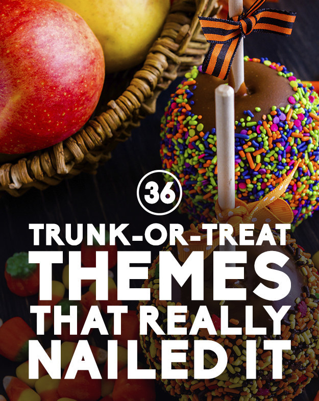 Star Wars Trunk Or Treat Ideas 36 trunk -or- treat themes that really ...