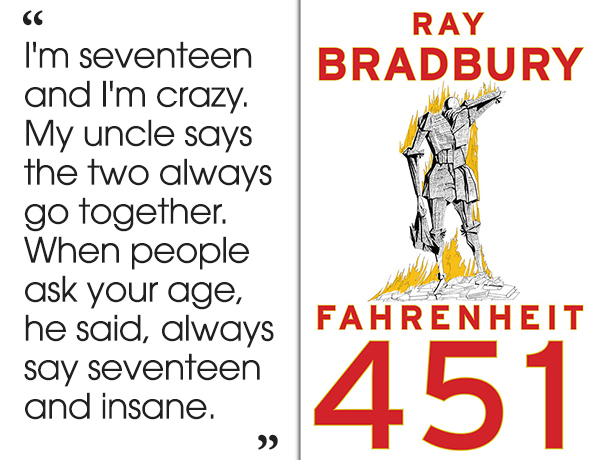 Fahrenheit 451 Old Woman Quote: 46 Brilliant Short Novels You Can Read In A Day