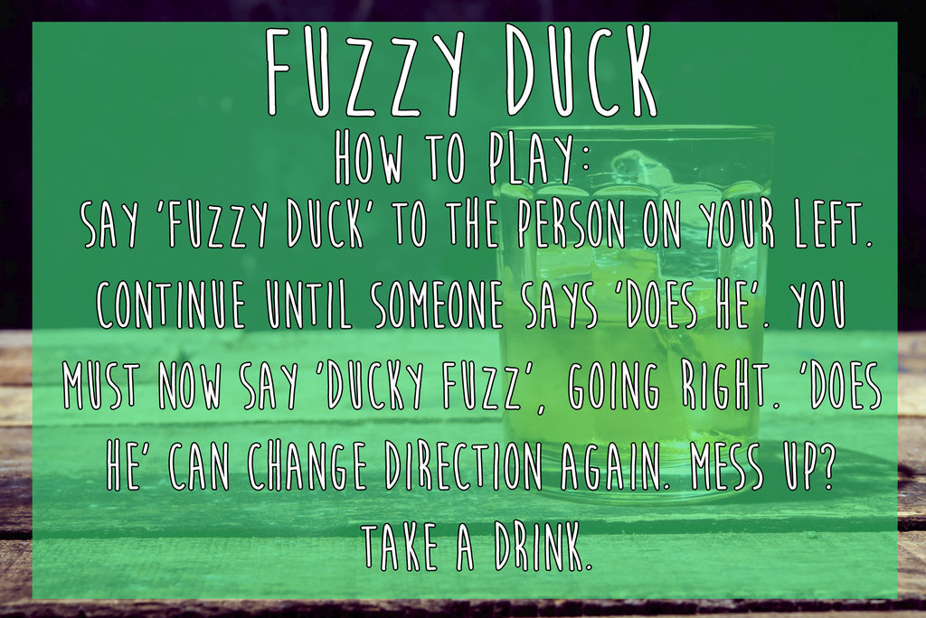 Funny drinking games for 4 people