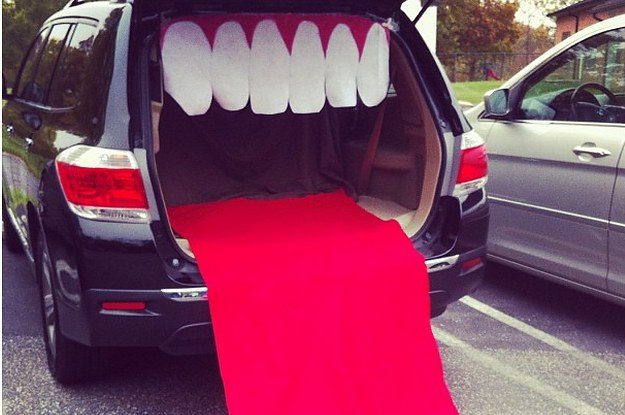 36 trunk or treat themes that really nailed it - Car Decorations For Halloween
