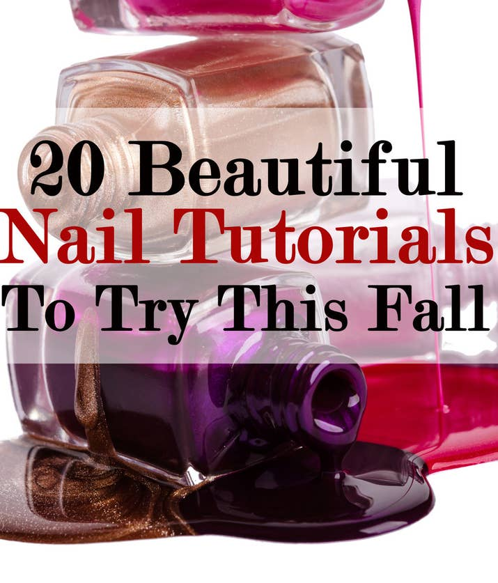 20 DIY Nail Tutorials You Need To Try This Fall