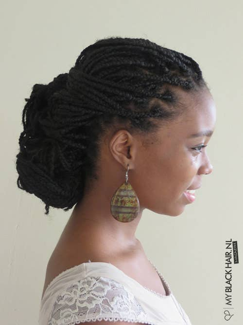 21 Awesome Ways To Style Your Box Braids And Locs