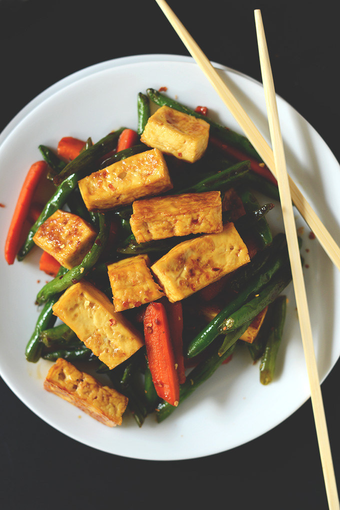 making a delicious stirfry be hard first prep the