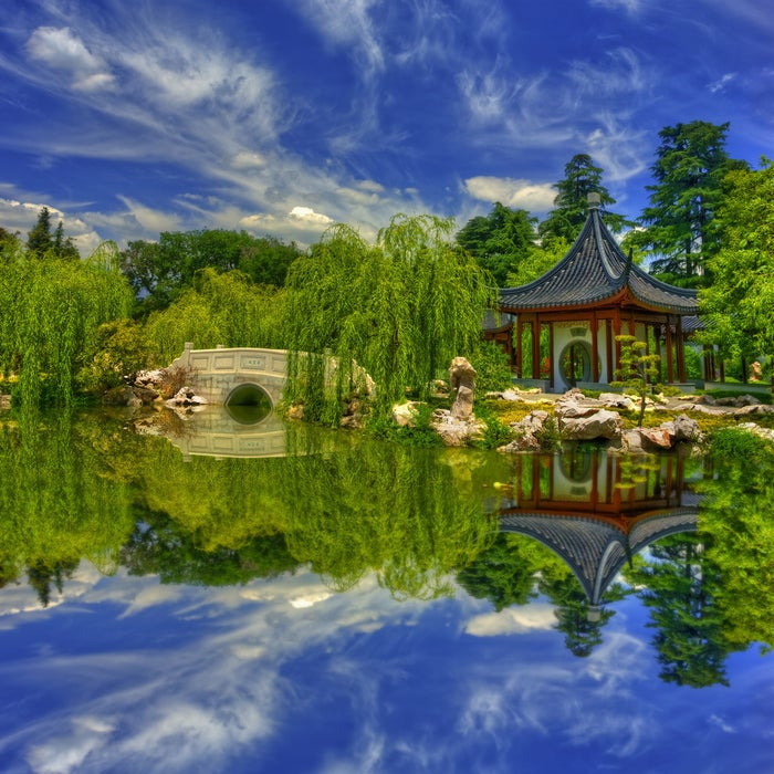 The Huntington Library and Botanical Gardens is home to the gorgeous Garden of Flowing Fragrance, which is modeled after the scholar gardens of Suzhou, China.