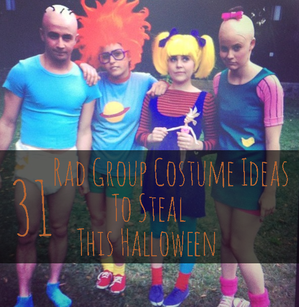 Share On Facebook Share ...  sc 1 st  BuzzFeed & 31 Rad Group Costume Ideas To Steal This Halloween