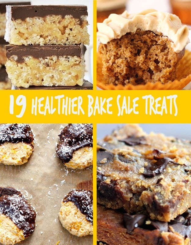 19 Healthier Bake Sale Treats That Are Perfect For Fall