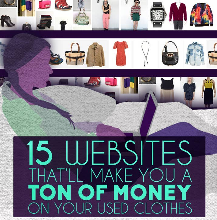 Websites Thatll Make You Money On Your Used Clothes - Commission invoice format women clothing stores online