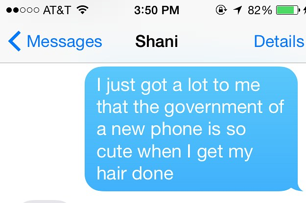 The New iOS8 Predictive Text Makes For Terrible Slam Poetry