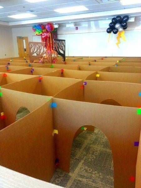 Find 31 other incredible things you can do with a cardboard box here.