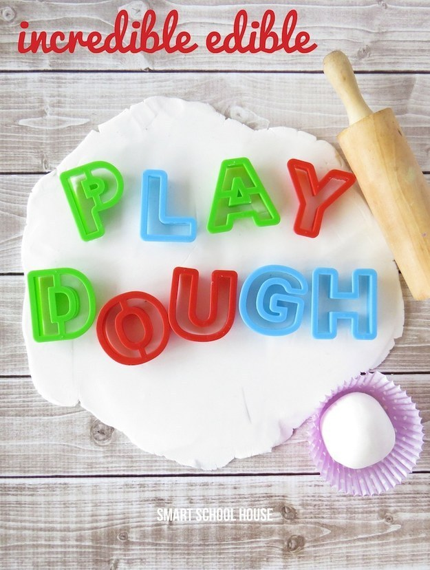 Ediible playdough is pretty incredible, too.