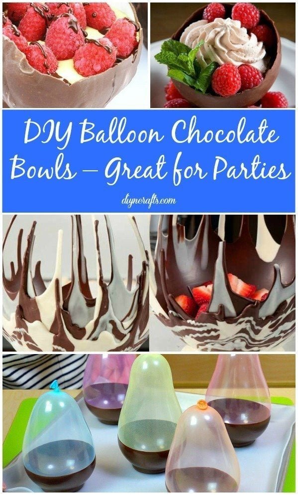 It looks way harder than it is, thanks to this DIY using balloons.
