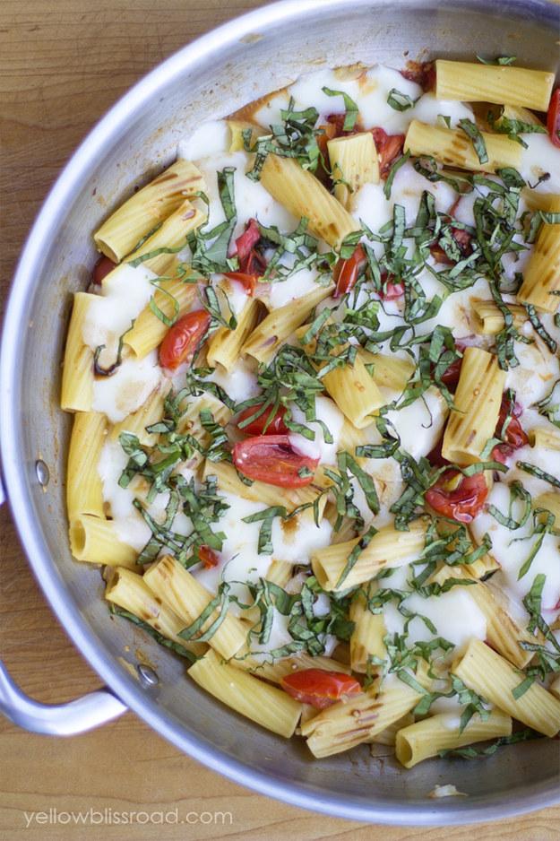 Easy pasta bake recipes no meat