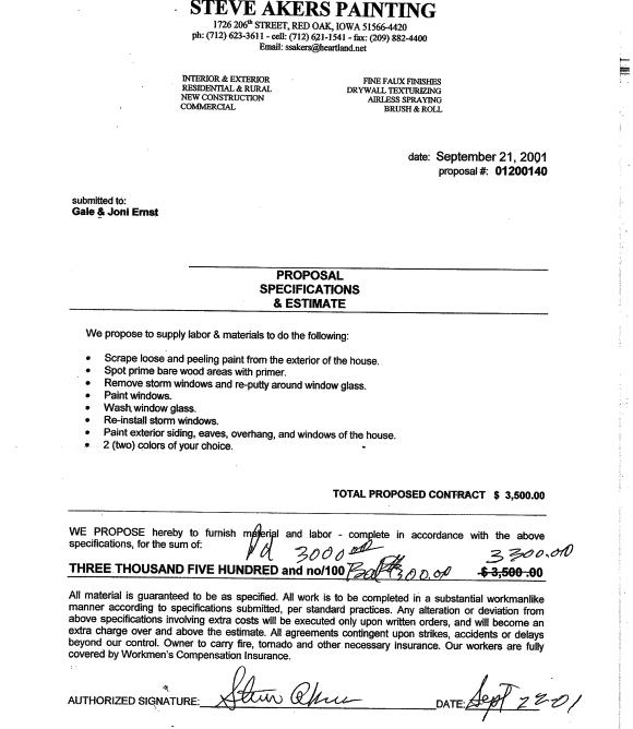 sample interior design contract
