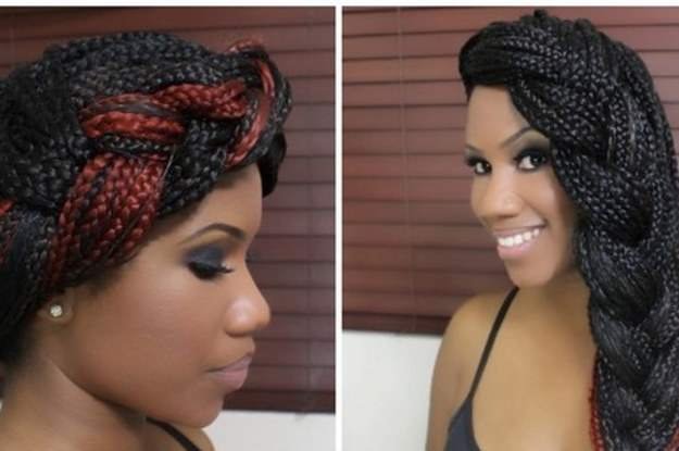 Astounding 21 Awesome Ways To Style Your Box Braids And Locs Short Hairstyles Gunalazisus