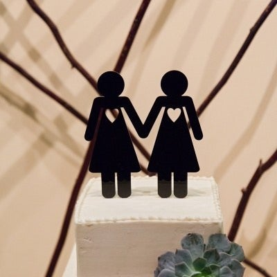 252d7df852240c 23 Super Cute Lesbian Wedding Ideas