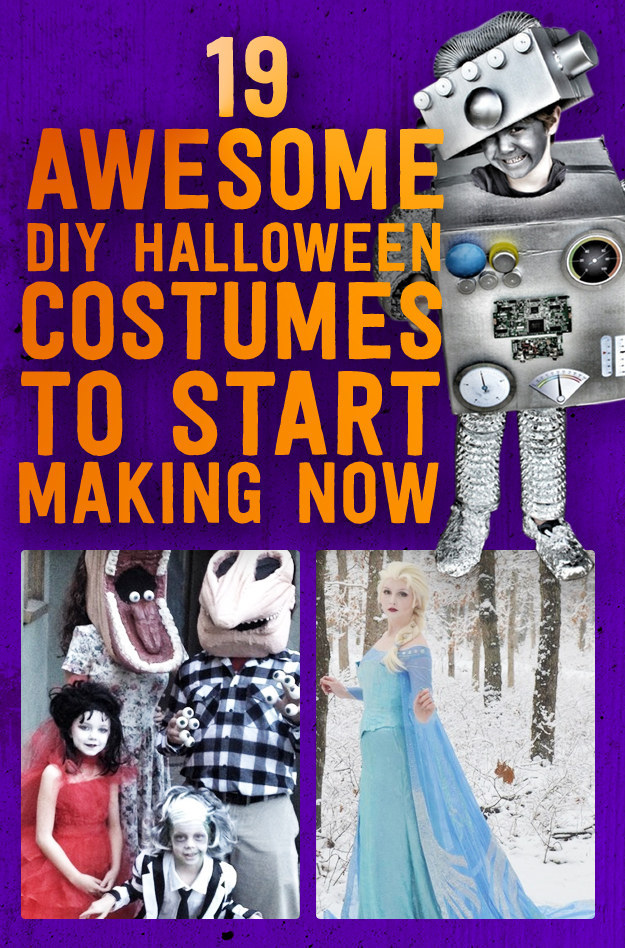 Share On Facebook Share ...  sc 1 st  BuzzFeed & 19 Awesome DIY Halloween Costumes To Start Making Now