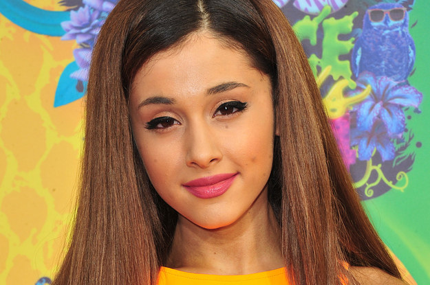 Buzzffed Best Of Ariana Grande: Ariana Grande With Her Hair Down Is Like An Entirely