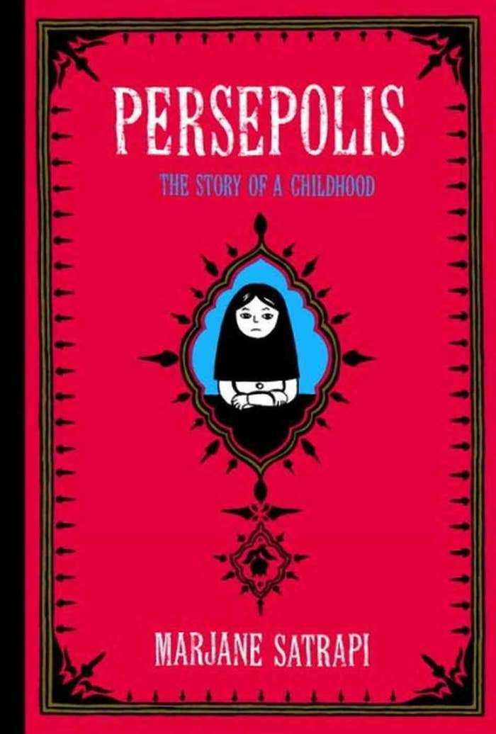 """The graphic novel version of Marjane Satrapi's childhood in Iran is a must-read for all humans--except seventh graders in Chicago, where the school board """"order that it not to be taught in the seventh grade curriculum because of its 'graphic images.'"""" (SocialistWorker.org)"""