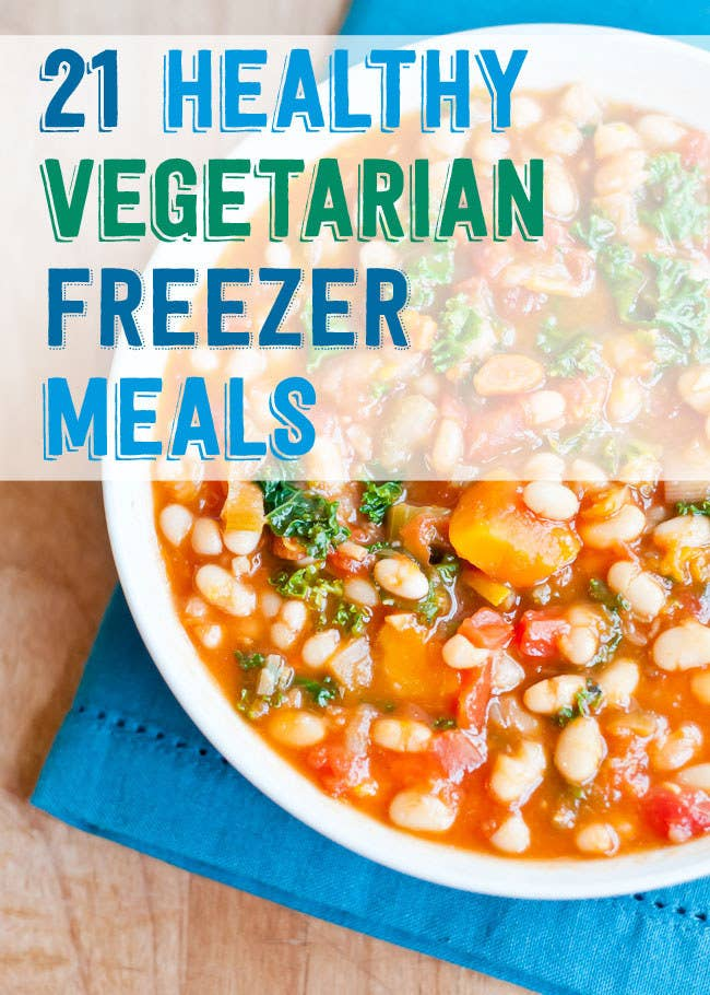 21 healthy and delicious freezer meals with no meat share on facebook share forumfinder Choice Image