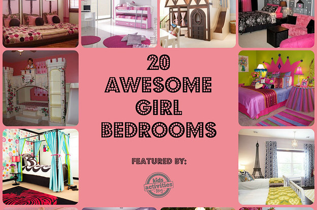 . 20 Awesome Girl Bedrooms