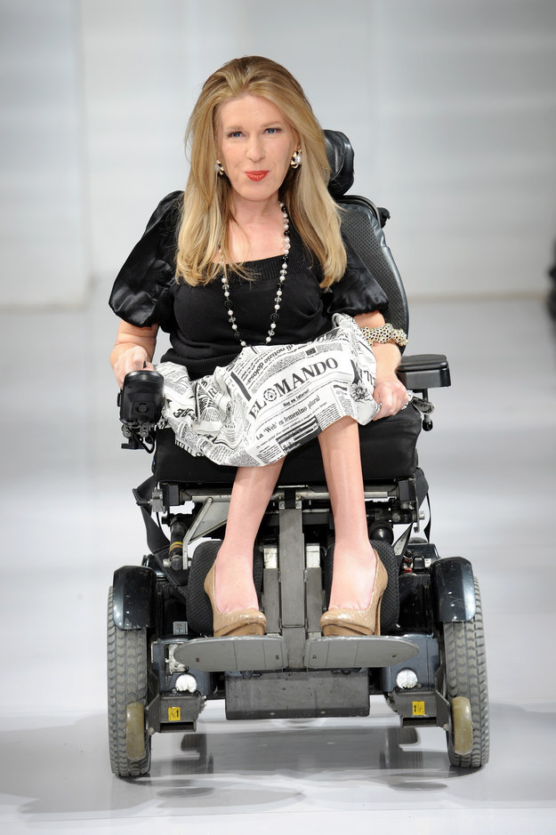 A Quadruple Amputee Walked The Runway At New York Fashion Week