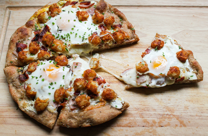 Are you getting tired of looking at this pizza? Well, I don't care. I will never, ever, ever, EVER stop telling you about this pizza. Get the recipe.