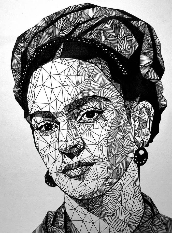 22 Ilustraciones Tributo A Frida Kahlo Creadas Por Artistas