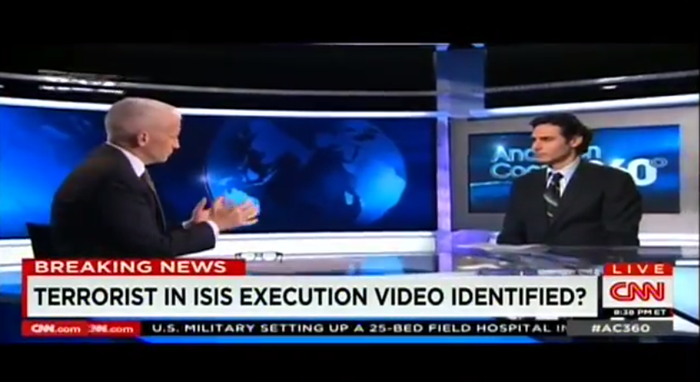 Barak Barfi, who spoke with Sotloff shortly before he was kidnapped, talked with Anderson Cooper on Monday on behalf of the Sotloff family. He described for the first time the circumstances under which the family believes Sotloff was kidnapped.
