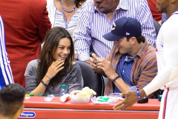The couple spotted at a basketball game in L.A. on March 22.