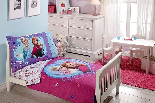 Four easy steps to a frozen bedroom makeover for Dormitorio 3x3