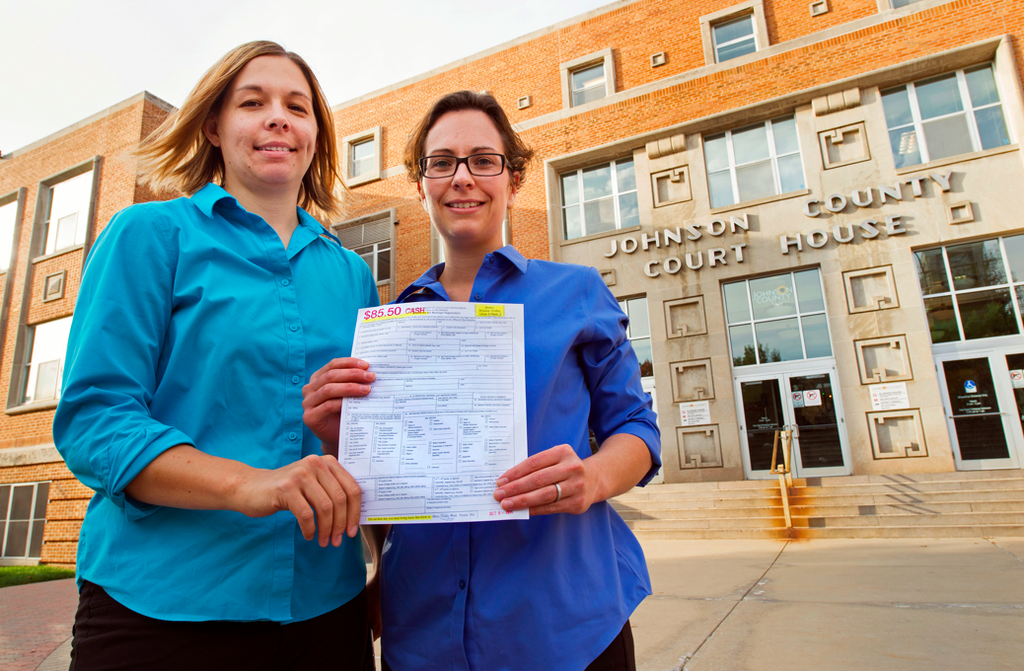 Kansas Supreme Court Puts Same-Sex Marriages On Temporary Hold