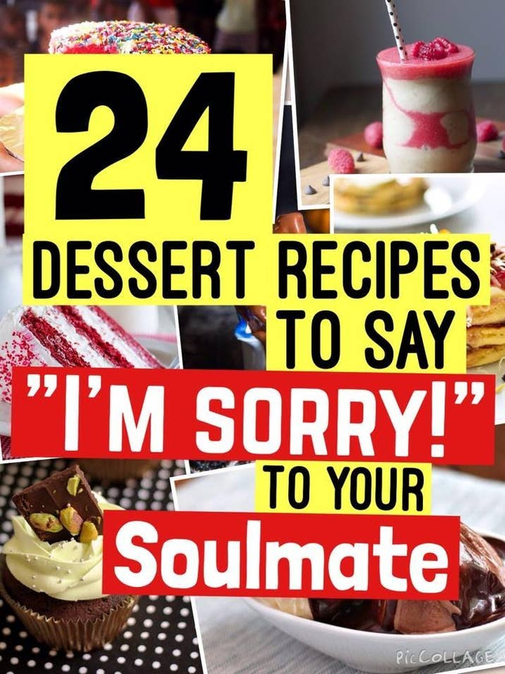 24 dessert recipes to say im sorry to your soulmate share on facebook share forumfinder Images