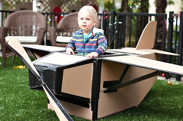 31 Things You Can Make With A Cardboard Box That Will Blow Your Kids