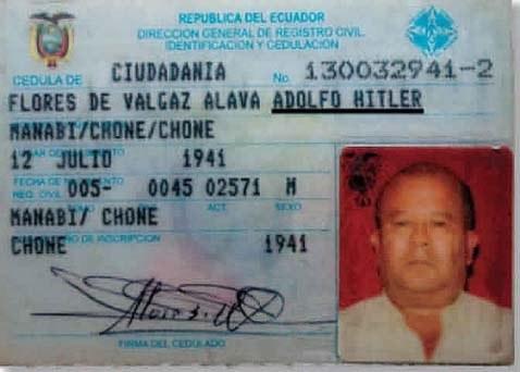 El Hitler de Ecuador :(