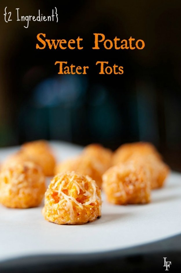 Two-Ingredient Sweet Potato Tater Tots