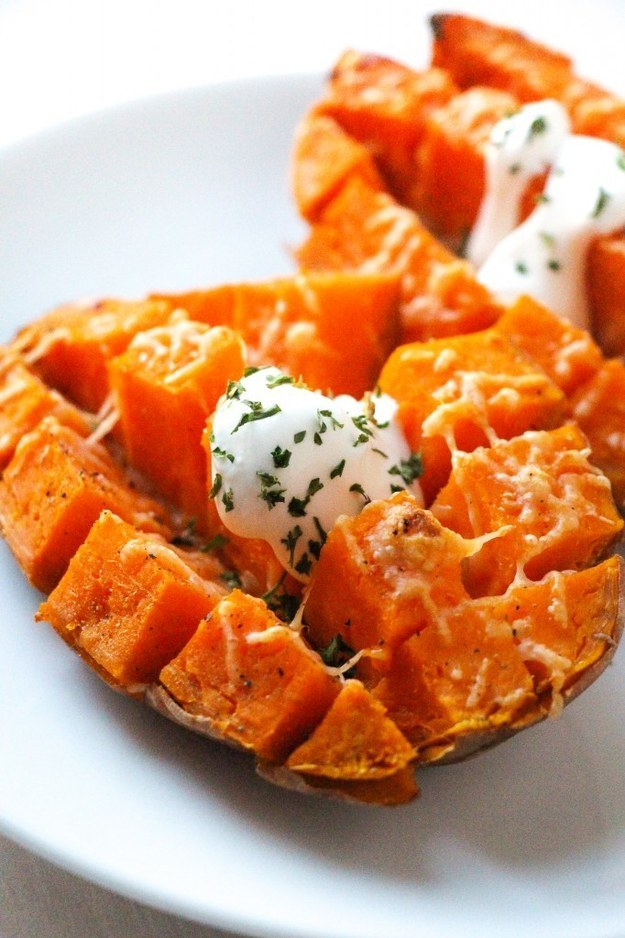 Easy 15-Minute Roasted Sweet Potatoes