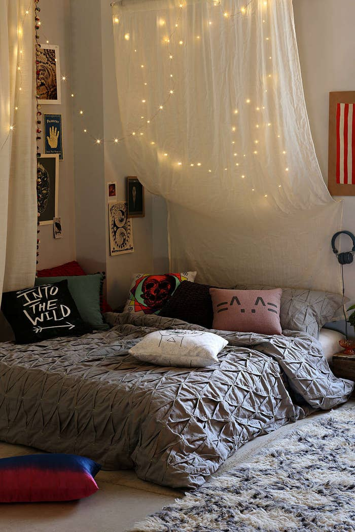 lights above bed ceiling hang string lights above your bed to add little magic 17 ways to make your bed the coziest place on earth