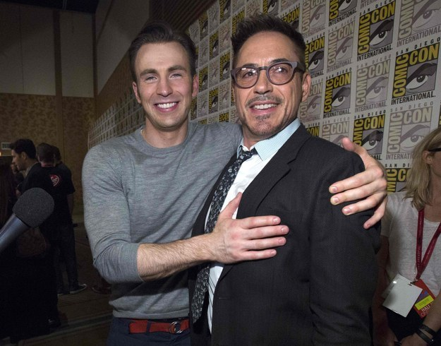 """Robert Downey Jr. To Reportedly Reprise Role As Iron Man In """"Captain America 3"""""""