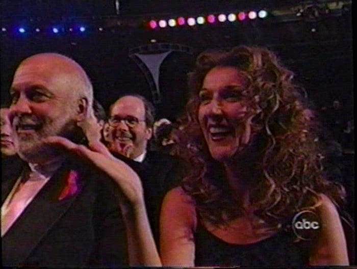 Celine Dion sans the babies.