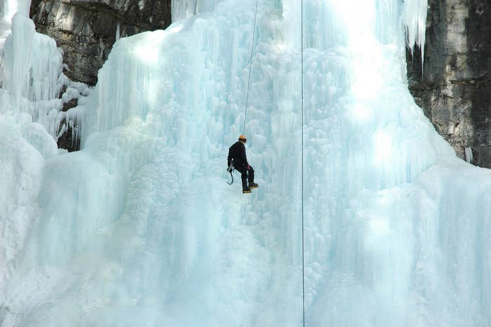 You need a little daredevil in you to strap on that harness, but ice climbing in Alberta is accessible to anyone. Sign up for guided instruction, or, if you're already a pro, dig in that ice ax and get ready for a new, awe-inspiring challenge.