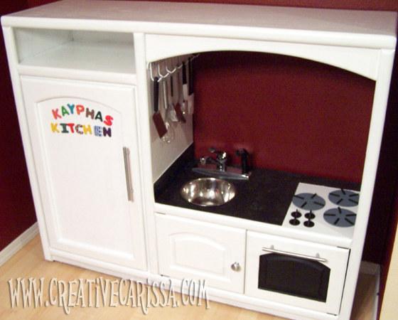 28 objets du quotidien transformer pour vos enfants - Transformer une table de cuisine ...