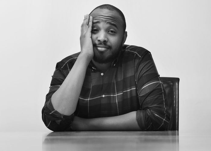 Dear White People writer/director Justin Simien.