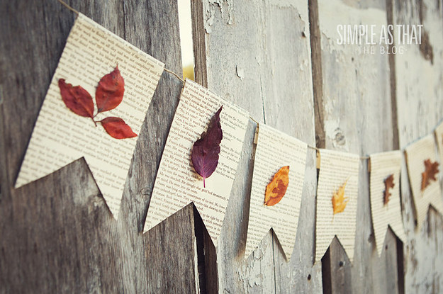 17 Easy Crafts To Make With Leaves