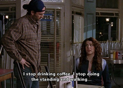 Image result for gilmore girls coffee