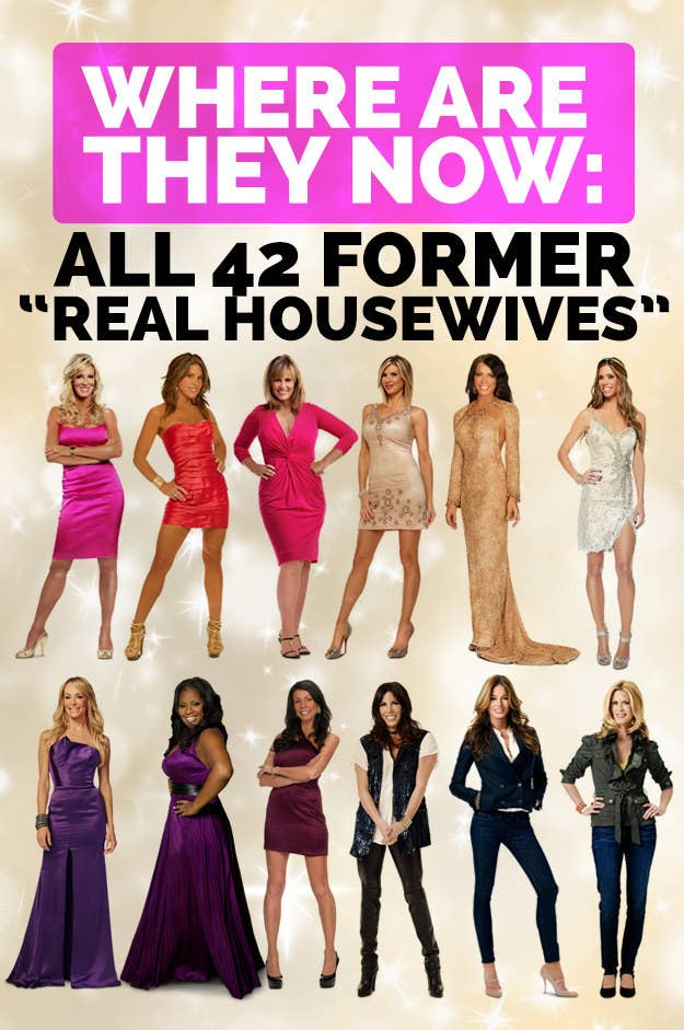 Where Are They Now All 42 Former Real Housewives
