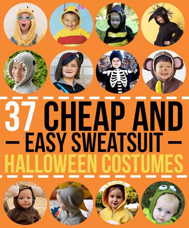37 Cheap And Easy Sweatsuit Halloween Costumes