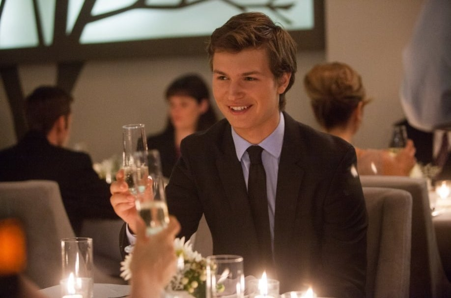 Ansel Elgort in The Fault in Our Stars