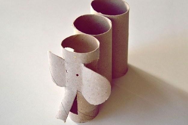 15 Manualidades hechas con rollos de papel higinico que puedes